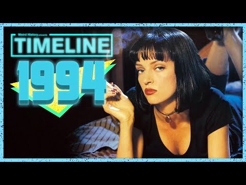 Timeline 1994 - Everything That Happened In '94