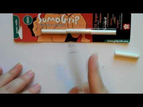 Clear Gray Sumo-Grip Sakura 50286 0.7-mm Pencil with Eraser