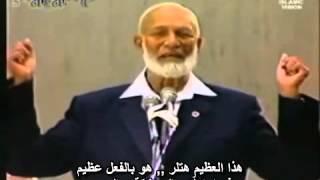 هل تتهيّاء إسرائيل للدمار ؟ أحمد ديدات و بول فيندلى