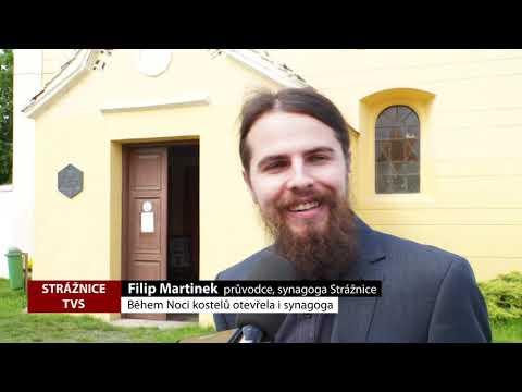 TVS Strážnice - Během Noci kostelů otevřela i synagoga