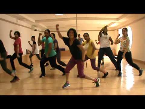 Zumba® Warm Up Routine by Vijaya | Stereo Love (Massive Drum Mix) by Edward Maya Ft. Vika Jigulina