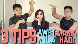 Video 3 TIPS AWET MUDA PUSPA DEWI (MAMAHADI) ! How to looks young in the age of 50 MP3, 3GP, MP4, WEBM, AVI, FLV Januari 2018