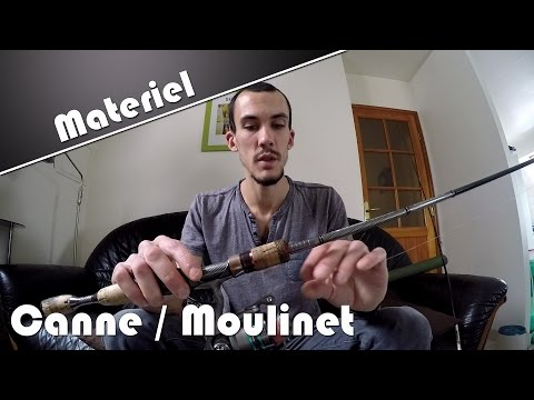 Presentation ensemble canne / moulinet | Materiel Peche | HD