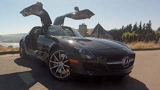 2012 Mercedes SLS AMG Startup, Test Drive, And Review