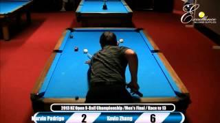 Final: 2013 New Zealand Open 9-Ball Championship