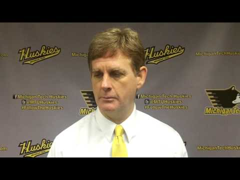 Coach Pearson Postgame Interview vs. Ferris State, 1-25-14