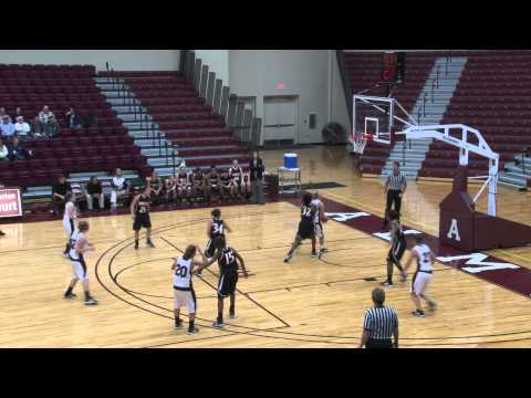 Alma College Women's Basketball vs. Adrian College - November 30, 2011