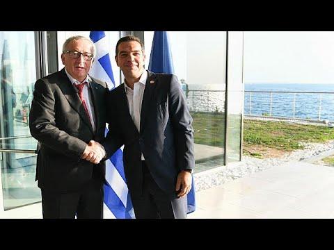 Γιούνκερ: «Η Ελλάδα είναι μεγάλο έθνος»