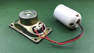 Video Free Energy Kit With Speaker Magnet | New Science Project 2019 MP3, 3GP, MP4, WEBM, AVI, FLV April 2019