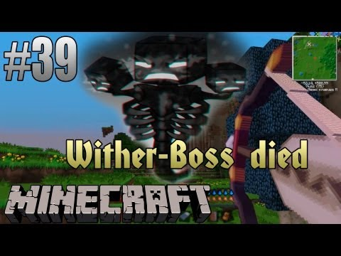 Minecraft с модами #39 - Я ПОБЕДИЛ WITHER-БОССА!!!
