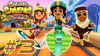 ►Gameplay #1http://bit.ly/2tIiXLWSubway Surfers: Marrakesh (2017)►Game InfoFollow Jake and the crew on the World Tour to Morocco. Dash through hot deserts and secret gardens in magnificent Marrakesh. Team up with Salma the mysterious snake charmer and unlock her Nomad Outfit. Strike through the Subway on the stunning Cobra board. Pick up colorful tajines on the tracks to win great Weekly Hunt prizes.►Subway Surfers Google Play Store: http://bit.ly/TYbZPNOfficial Site: http://bit.ly/1QJffHu►Support Pharmit24 by Donating PayPal: http://bit.ly/1LdfDx2►Pharmit24's Other GalaxiesFacebook: http://facebook.com/Pharmit24Google+: https://plus.google.com/+IIPharmit24IITwitter: http://twitter.com/Pharmit24Instagram: http://instagram.com/Pharmit242nd Channel: http://youtube.com/iiPharmitii►Intro Made byhttp://fiverr.com/gundude500►Intro MusicAero Chord - Surface~Pharmit24~