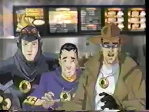 Cyber Crusaders 2000 - BSB - Burger King commercial