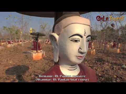 RV Paukan croisière en Birmanie (RV Paukan boat cruise in Myanmar Burma - Galatourist)