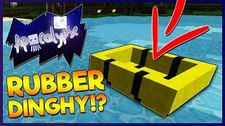 RUBBER DINGHIES IN MINECRAFT!?   Minecraft Apocalypse   #6