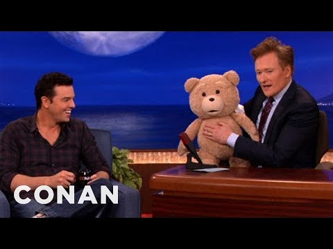 seth macfarlane - But don't worry, Seth is there to provide the voice...but not the swears. More CONAN @ http://teamcoco.com/video.