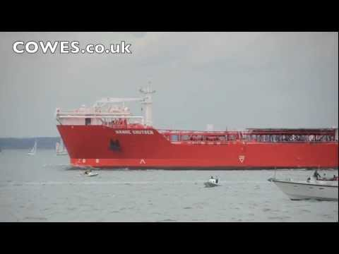 tanker - Whilst the Extreme Racing series was entertaining the crowds at this years' Aberdeen Asset Management Cowes Week, the supertanker hit a yacht which was then ...