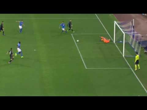 Napoli ( 1 - 3 ) - Real Madrid Goal Morata Champions League 7/03/2017