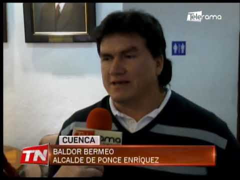 Alcalde de Ponce Enríquez denuncia presunta agresión policial