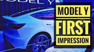 Tesla Model Y: First Impression