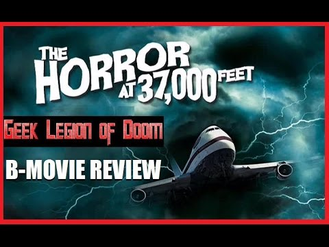 THE HORROR AT 37,000 FEET ( 1973 William Shatner ) Horror Movie Review