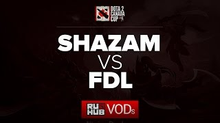 Shazam vs FDL, game 3