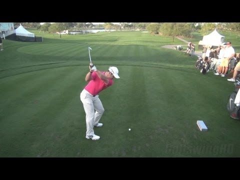 GOLF SWING 2013 – PAUL CASEY IRON DRIVE – ELEVATED DTL FULL SPEED & SLOW MOTION – 1080p HD