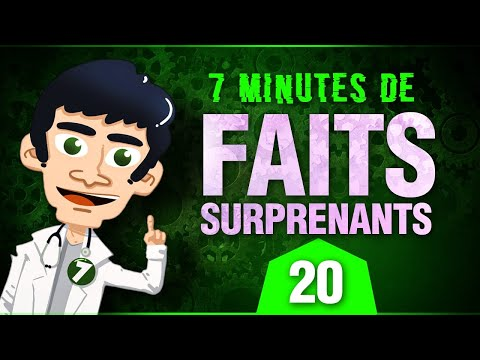 7 minutes de faits surprenants #20
