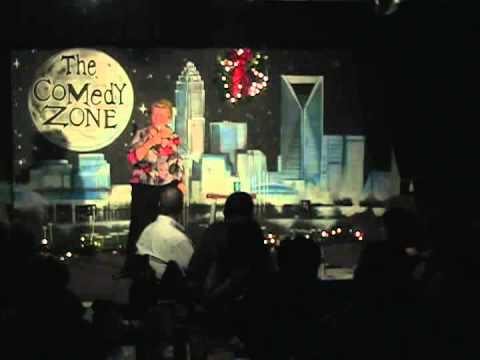 Debby Pezza on 12-17-12 at Graduation Showcase for The Comedy Zone Comedy School