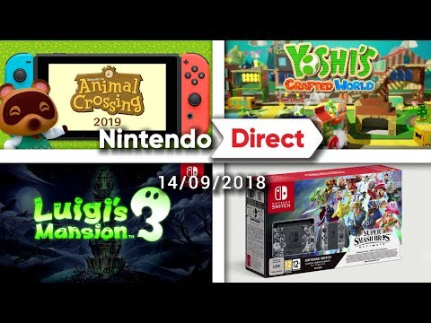 ANIMAL CROSSING, LUIGI'S MANSION 3, NOUVELLES NINTENDO SWITCH,... | NINTENDO DIRECT REACTION LIVE (видео)