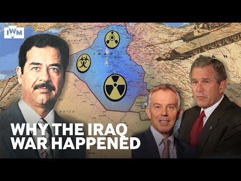 Iraq War 2003 Explained | Why Bush and Blair attacked Saddam Hussein