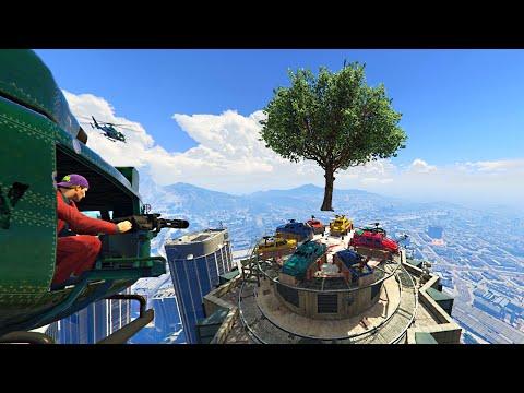 RAINBOW ROOFTOP ASSUALT! (GTA 5 Online)