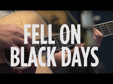 "Chris Cornell ""Fell On Black Days"" Soundgarden Cover Live @ SiriusXM // Lithium"