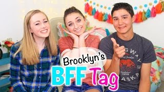 Brooklyn's BFF Tag | Brooklyn and Bailey by Brooklyn and Bailey