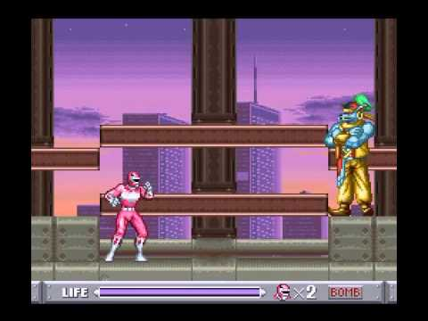 Mighty Morphin Power Rangers Super Nintendo