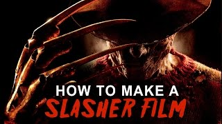 How To Make A SLASHER Film In 3 Minutes Or Less