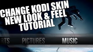 KODI 17 HOW TO CHANGE SKIN EASY TUTORIAL (Change Look & Feel Of KODI 17)In this KODI 17 Tutorial I will be showing you how to change the skin so it gives KODI a nice new look and feel you can choose from a couple of cool skins. This is a very easy to follow KODI Tutorial.KODI Download Link: https://kodi.tv/NEW ComputerSluggish Plus Channel: https://www.youtube.com/channel/UCDGkYY98rV-0ZgOAkBpZFxADonate Now! https://paypal.me/computersluggish (All Donations Are A Big Help At Making My Channel Grow.)#KODI#KODI17#KODISKIN#KODITHEME