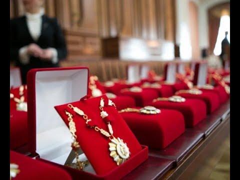 Президент вручил высокие государственные награды группе граждан