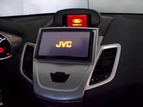 JVC AVX 840 su Ford Fiesta MK7