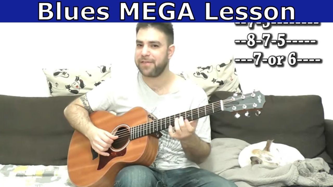 Advanced Blues Mega-Lesson: Solo-Trading Fingerstyle Blues – Guitar Tutorial w/ TAB