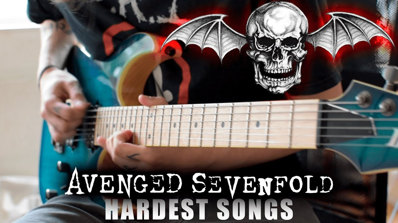 Avenged Sevenfold HARDEST Songs On Rhythm Guitar