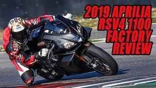 7. 2019 Aprilia RSV4 1100 Factory Video Review