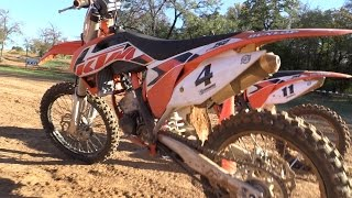 10. 2015 KTM 150 SX Test Ride - Best Two Stroke Ever?