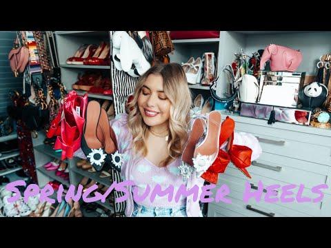 Favourite Spring/Summer Shoes From Amina Muaddi, Bottega Veneta, and More! | Conscienc… видео