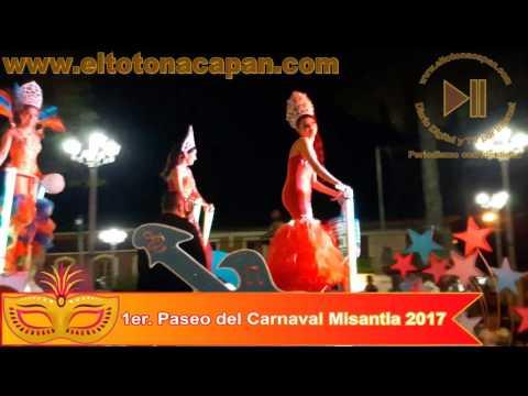 1er. Paseo del Carnaval Misantla 2017.