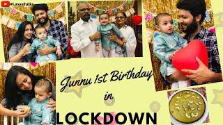 Lasya Talks || Junnu 1st Birthday in Lockdown