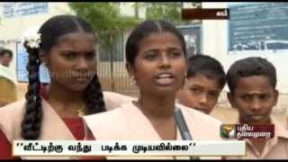 Having to travel in crisis : Lack of transport in Namakkal district