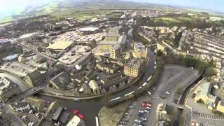 Interesting drone footage of Skipton!