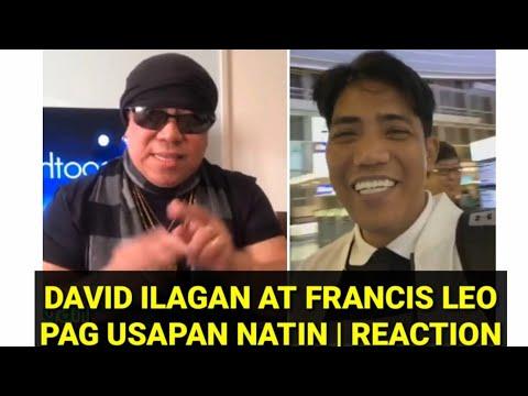 Reaction Ko Kay David Ilagan