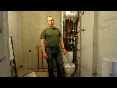 Узел водоразбора в квартире