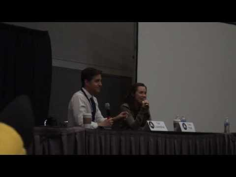 Lowenthal - There were so many Naruto related questions during this panel. MAH01253.